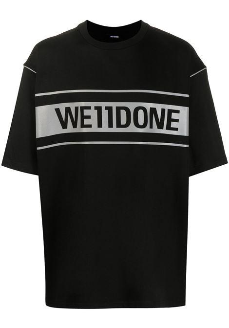T-shirt oversize Uomo WE11DONE | T-shirt | WDTP519940BK