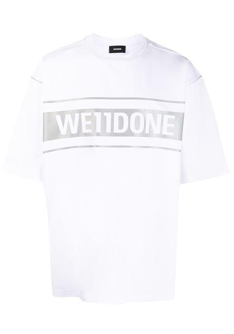 T-shirt con logo Uomo WE11DONE | T-shirt | WDTP519940WH