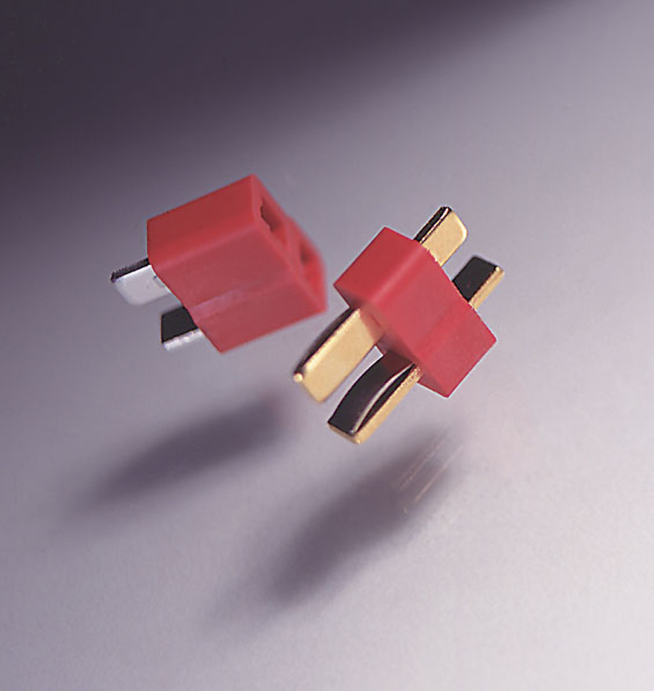 Female Set 2-Pin Deans WSD1300 Dean/'s 1300 Ultra Plugs Male 2