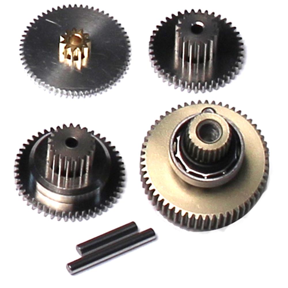 Titanium Servo Gear Set /& Bearing Savox SG-SC1257TG SAVSGSC1257TG