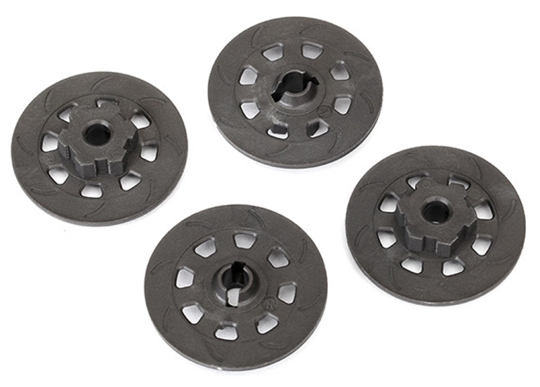 4954R Traxxas R//C Radio Controlled Car Spare Parts Wheel Hubs Hex Steel Black