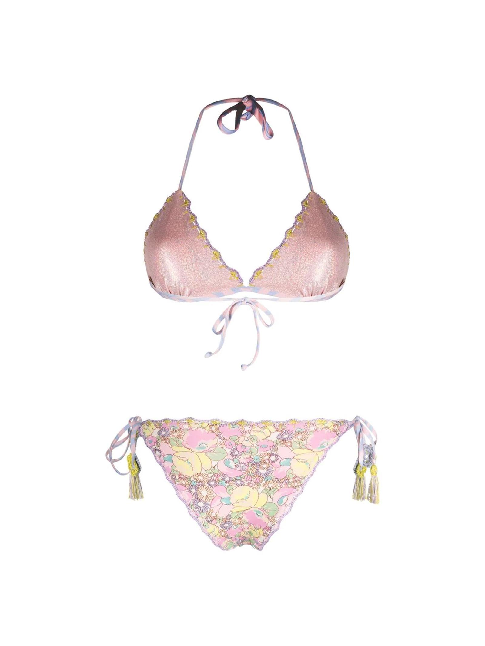 BIKINI A FIORI ANJUNA   Bikini   MELISSA/DMLAV