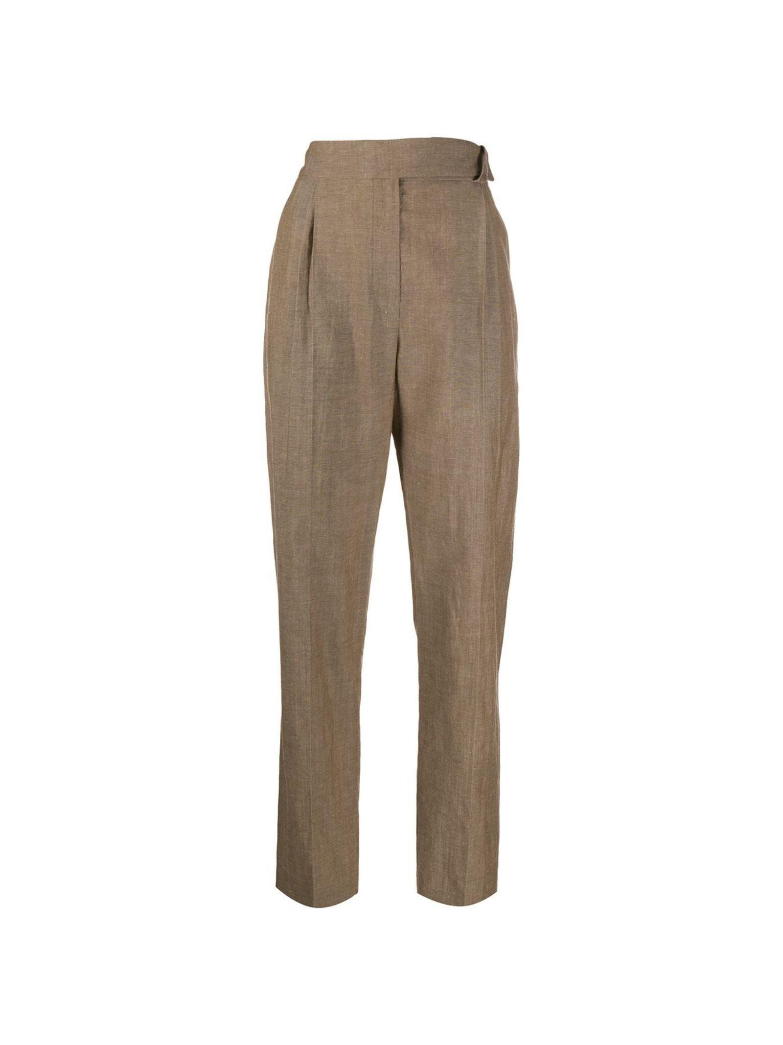 PANTALONI MISTO LINO BRUNELLO CUCINELLI   Pantalone   MF509P7599C2451