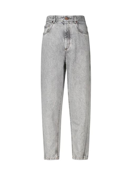 PANTALONE IN DENIM BRUNELLO CUCINELLI | Pantalone | MA095P5595C7819