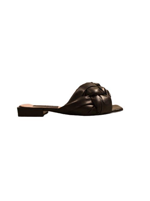 SANDALO IN PELLE INTRECCIATA NORA BARTH | Scarpe | S90930099