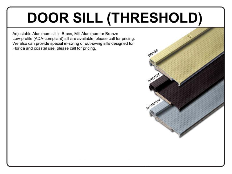 Exterior Door Adjustable Threshold 800 x 600 · 61 kB · jpeg