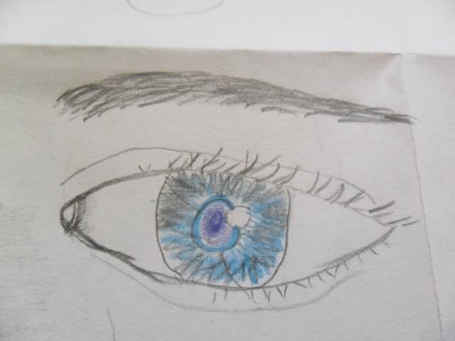 My first drawing ofan eye