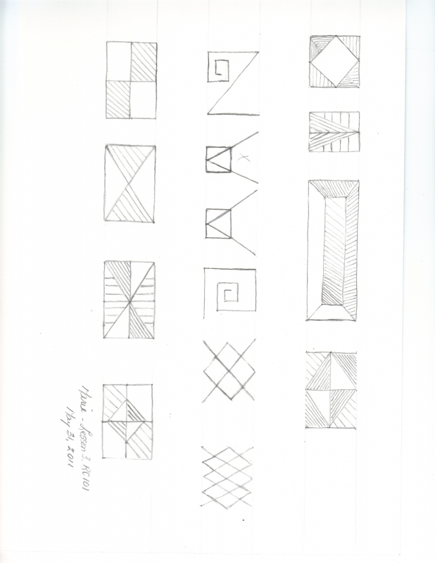 Lesson 1 week 3 Drawsspace