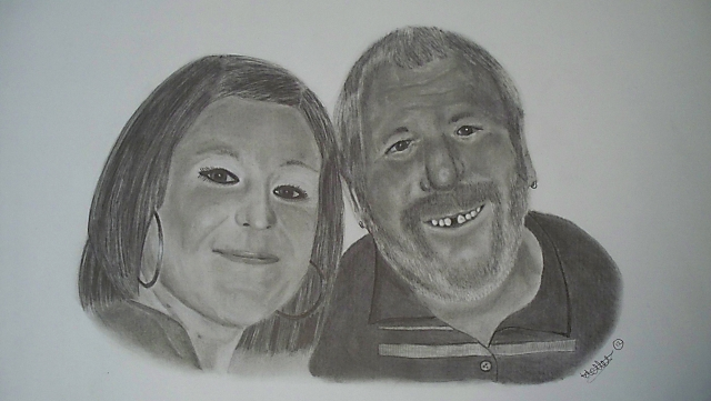 Pencil Portrait Art