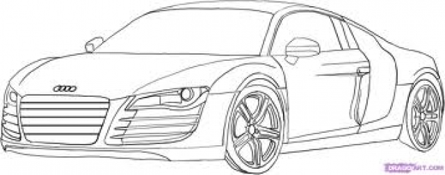 Post 34111 for Audi r8 coloring pages