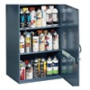 Storage Cabinet Gray,  32-3/4 Overall Height,  Welded