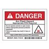 Arc Flash Protection Label, PK 5