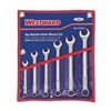 Ratcheting Open EndSAE,  Combination Wrench Set Number of Pieces: 6,  Number of Points: 12