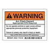 Arc Flash Protection Label, PK 5