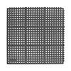 Antifatigue Mat, 3 x 3 Ft, Black