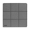 Antifatigue Mat, 3 x 3 Ft, Black