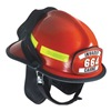 Fire Helmet, Red, Modern