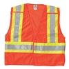 Breakaway Hi Vis Vest, Class 2, 2XL, Orange