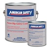 Anti-Slip Floor Coating, 1 gal, Safety Ylw