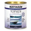 Topside Paint, Navy Blue, Alkyd