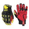 Anti-Vibration Mining Gloves, L, Yellow, PR