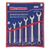 Combo Wrench Set, Ratchet OE, 5/16-5/8, 6Pc