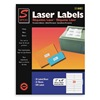 Laser Label, 1x4In, PK 25, White
