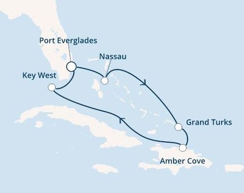 Christmas Cruise Itinerary