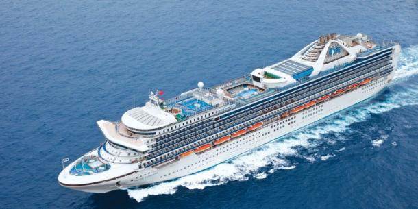 Cruises from California on Grand Princess