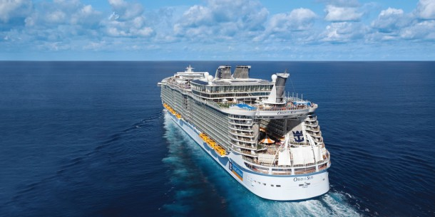Royal Caribbean Cruises on Oasis of the Seas