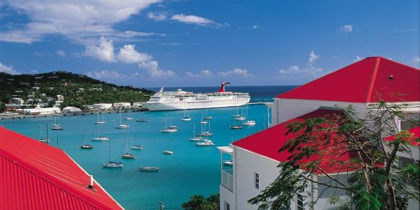 Cruises from Tampa on the Carnival Paradise