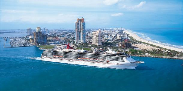 Cruises from Baltimore on Carnival Pride