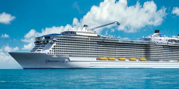 Royal Caribbean Cruises on Ovation of the Seas