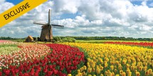 7-Nt Deluxe Holland & Belgium River Cruise