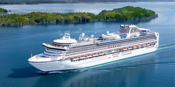 Princess Cruises on the Sapphire Princess