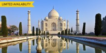 Air & 15-Day Escorted India Tour w/ Safari