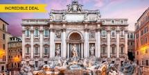 Air & 4-Nt Rome Vacation Pkg w/ 3-Star Hotel