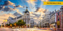 Air & 4-Nt Madrid w/ Breakfast Daily