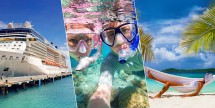Double Free Bonus Cash on Caribbean Cruises