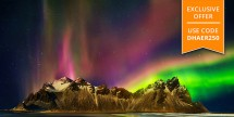 Air & 11-Day Iceland w/ Northern Lights Tour