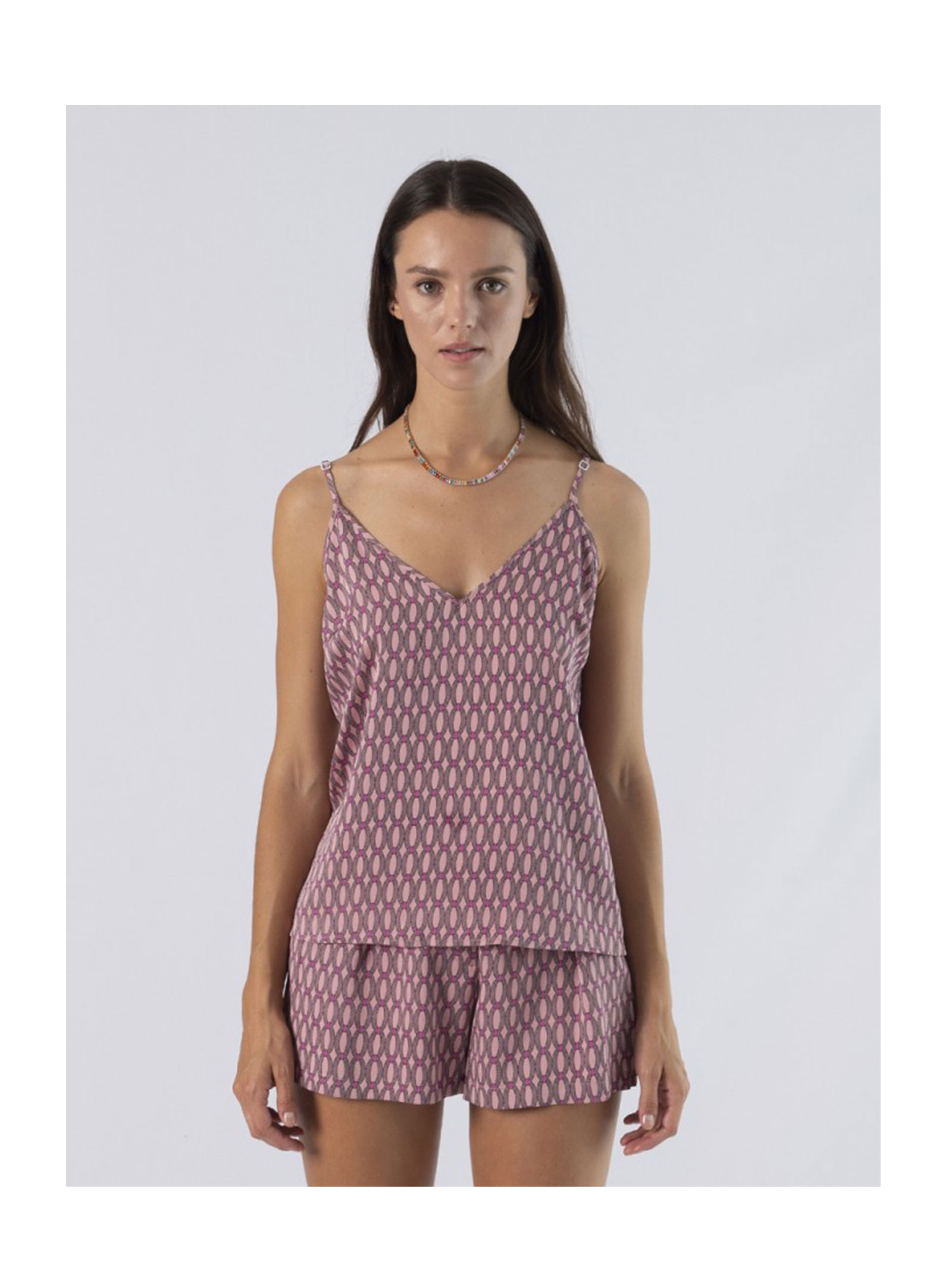 Top Spalline ANONYME | Top | A121ST088PINK