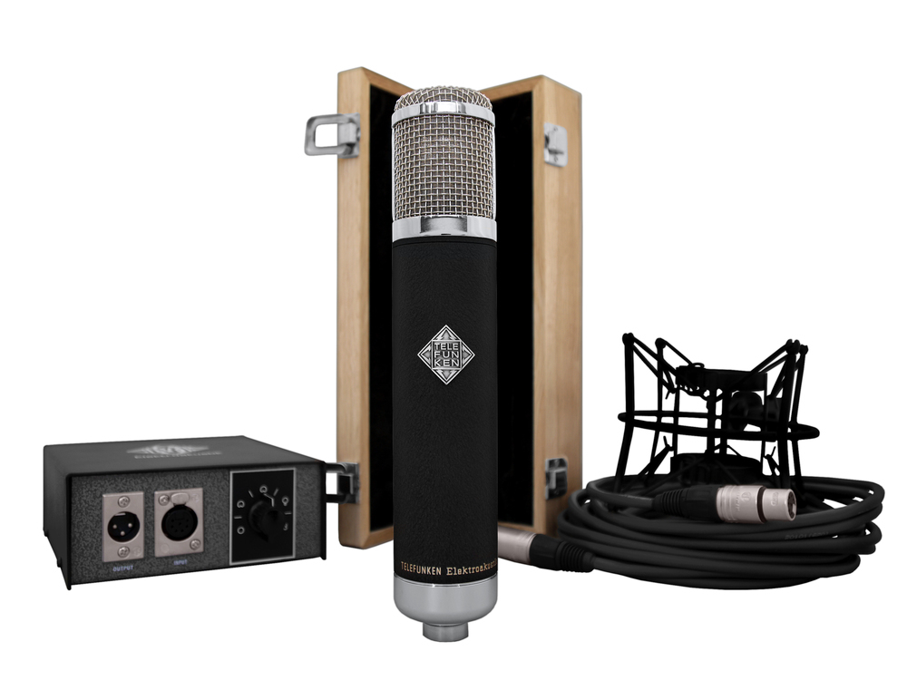 Telefunken Elektroakustik AK47 mkII tube condenser microphone system