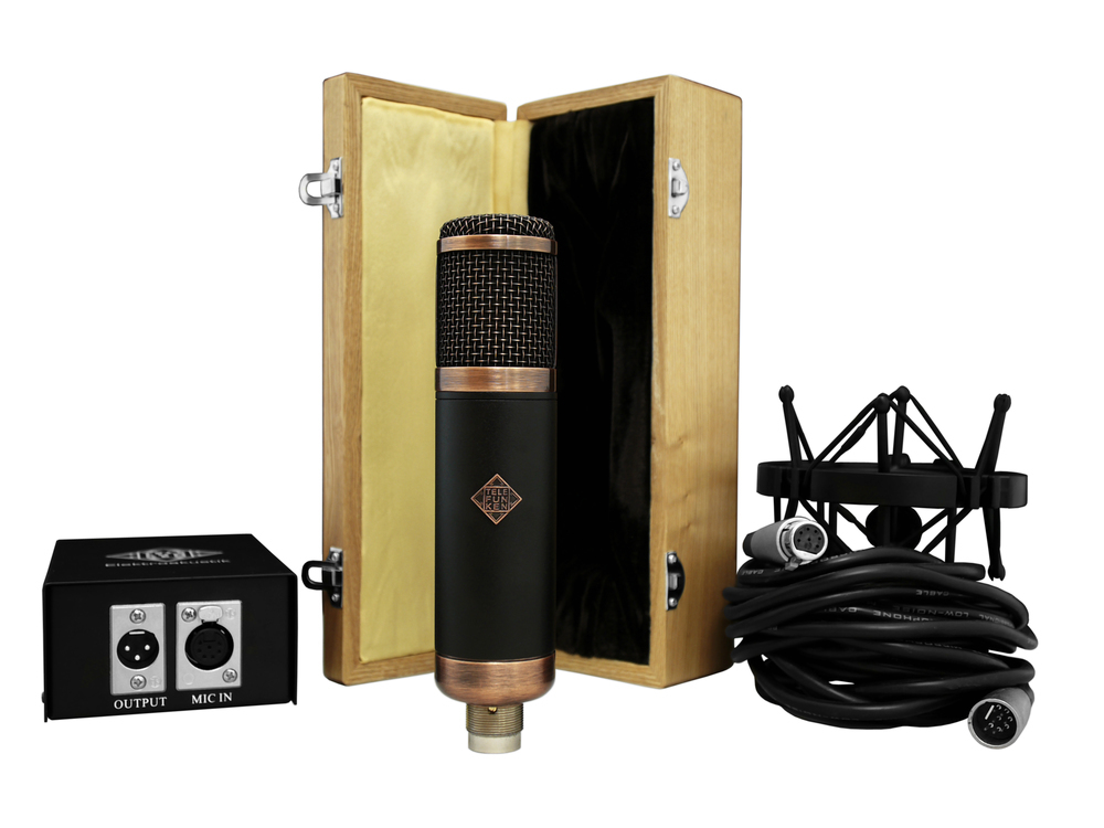 Telefunken Elektroakustik CU-29 tube microphone system