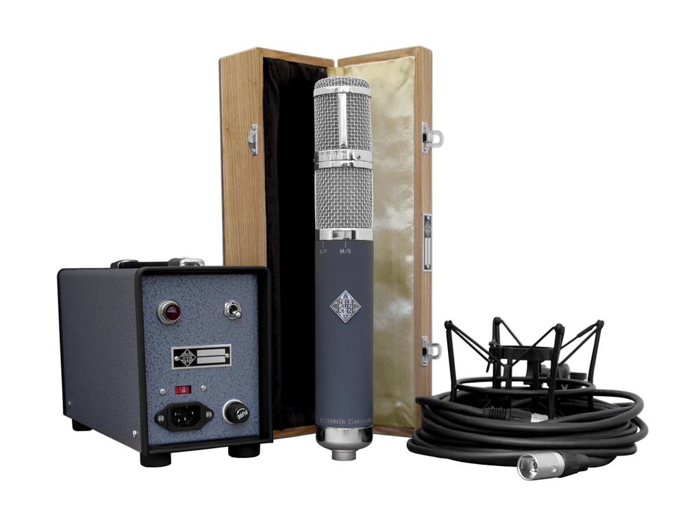 Telefunken Elektroakustik AR-70 stereo tube microphone system