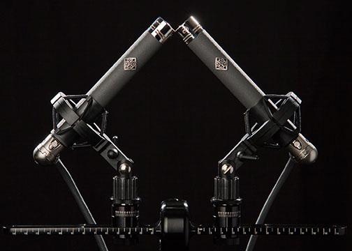 Telefunken Elektroakustik M260 tube microphone stereo pair