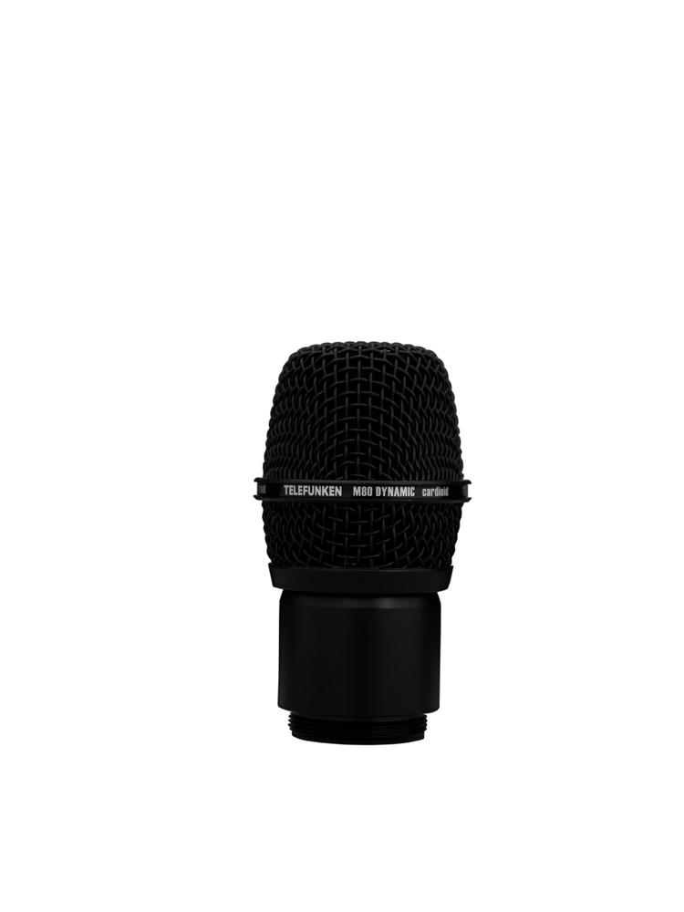 Telefunken Elektroakustik M80 WHB wireless dynamic microphone head (black grille)