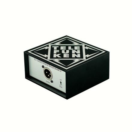 Telefunken Elektroakustik TDP-1 mono passive DI direct box