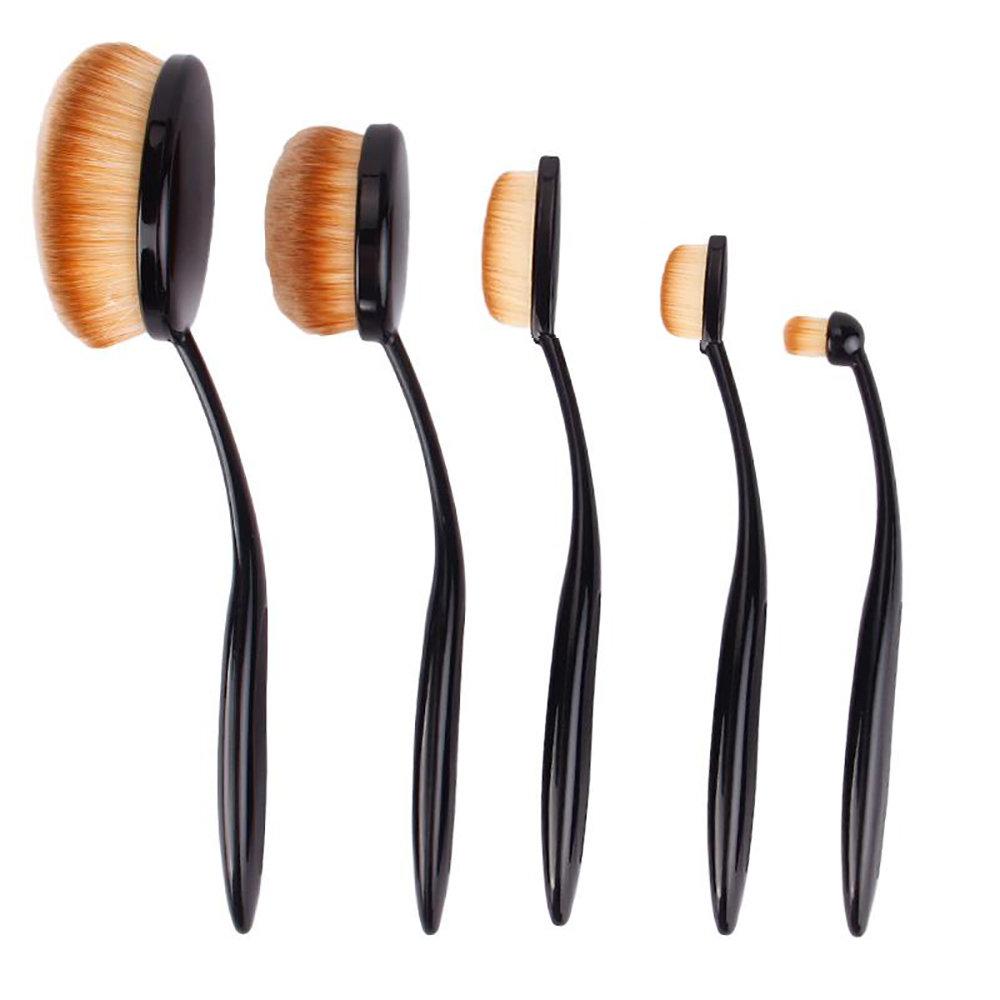 kit de 5 pinceaux de maquillage professionnel 135dh. Black Bedroom Furniture Sets. Home Design Ideas