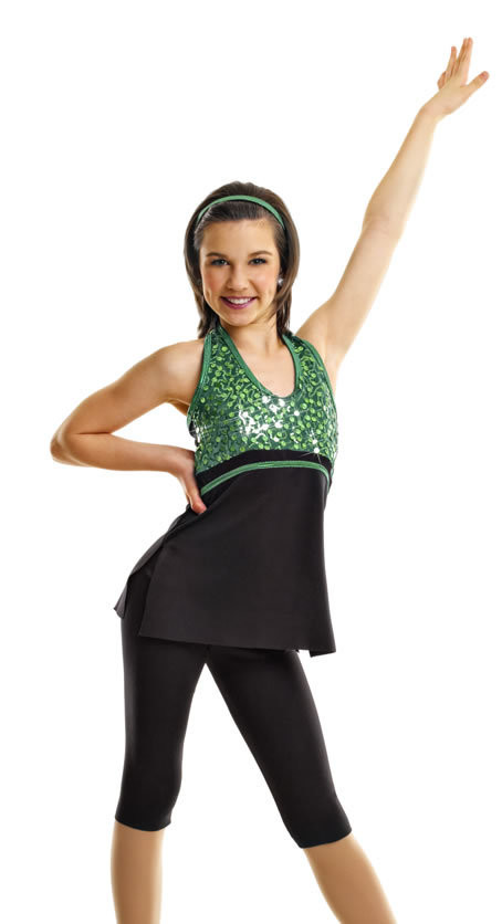 U Can Dance EMERALD 1 x CLA (Also avail Fuchsia CME)