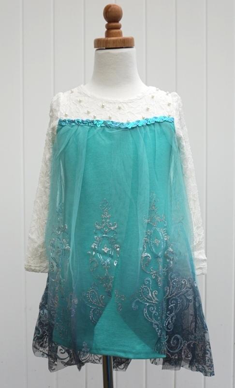 Elsa Frozen Inspired Dress
